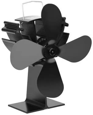 ExcLent Ventilador De Estufa De 4 Palas Con Energía Ecológica Para ...
