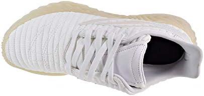 adidas Mens Sobakov Casual Sneakers, White, 9