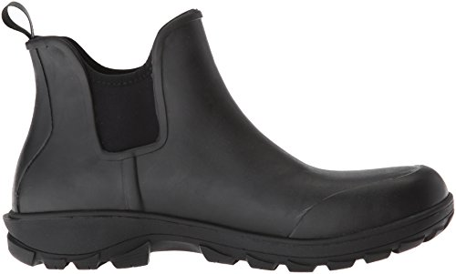 Bogs Mens Sauvie Slip Chukka Boot Nero
