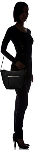 Ecco Sculptured body Black Women's Bag Crossbody Cross rznrq41