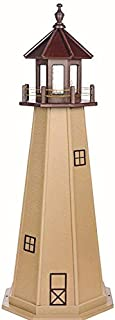 product image for DutchCrafters Decorative Lighthouse - Poly, Cape May Style (Brown/Weatherwood, 5)