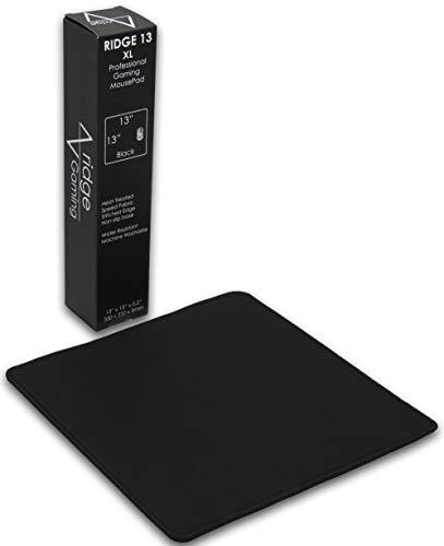 Pro Gaming Mouse Pad (5mm) | Ridge XL 13 inch Square | 13x13x0.20