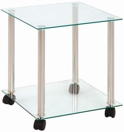 13Casa Tavolino Stark A12 Mat: Nobilitato. Dim: 40x40x44,5 h cm Col: Rovere