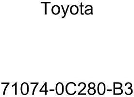 TOYOTA Genuine 71074-0C280-B3 Seat Back Cover