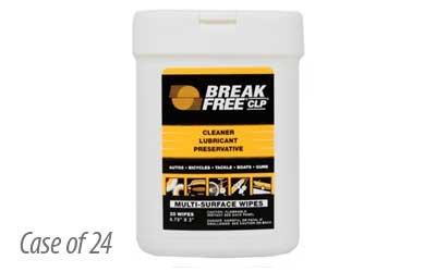 - Break Free CLP Multi-Surface Weapon Wipes