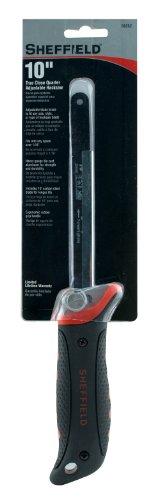 Sheffield 58252 10 Inch Adjustable True Close Quarter Hacksaw (Close Saw Hand Quarter)