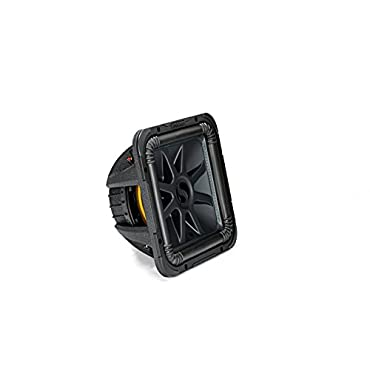 Kicker Solo-Baric L7S 1500W 12 2 Ohm DVC Sealed or Ported Square Subwoofer