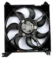 TYC 600700 Hyundai/Kia Replacement Radiator Cooling Fan Assembly