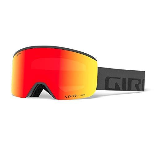 Giro Axis スノーボード用ゴーグル B073JKLY55 White Wordmark|ビビッドエンバー/ビビッド赤外線(Vivid Ember/Vivid Infrared) White Wordmark