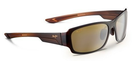 Maui Jim Sunglasses - Bamboo Forest / Frame: Rootbeer Fade Lens: HCL - Forest Bamboo