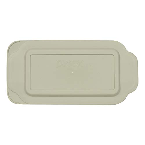 (Pyrex 213-PC 1.5 Quart Gray Rectangle Plastic Replacement Lid Cover for Loaf Pan)