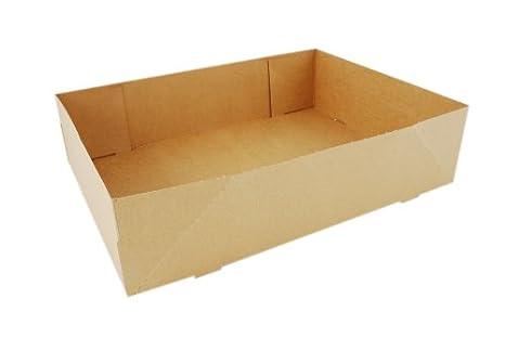 Sur de Champion bandeja 1270 # 2 de cartón kraft una pieza Donut bandeja, 13 – 1/2