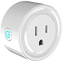 Wifi Smart Socket IoT Home Device Alexa Echo Dot Google Home and Extension cord Transformers Old Electronic to Wifi Enabled Devices. Plug in Switches Outlet Timer Light Schedule Energy Saving (1)