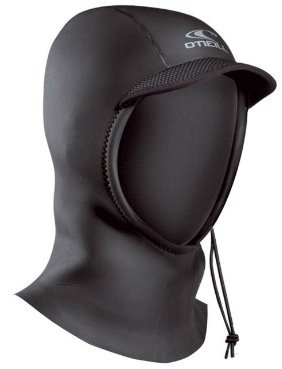 O'Neill Wetsuits Mens 3 mm Hyperfreak Coldwater Hood, Black, Large