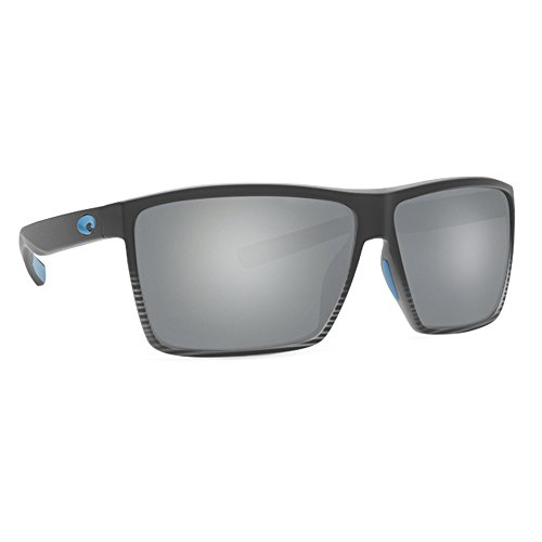 Costa Rincon 580 Sunglasses, Matte Smoke Fade/Silver Mirror, One - Champion Sunglass