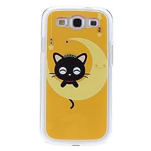comprar Luna Caso duro del patrón con el Rhinestone para Samsung Galaxy S3 I9300