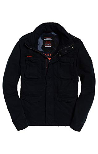 Blu Homme Bpy Manteau nightshade Superdry EBqW41wE