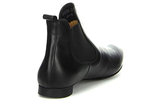 Guad Classic Boots Size Lined Women's Cold Boot 5 Chelsea Think Short Length Black 9 qY5R0