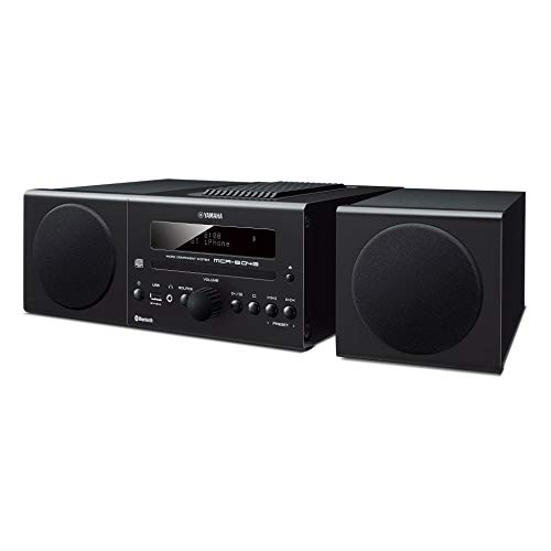 Yamaha MCR-B043BL Desktop Audio System, Black