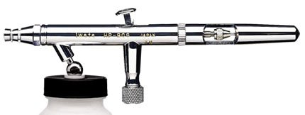 - Iwata-Medea Eclipse HP BCS Dual Action Bottle Feed Air Brush ECL 2000