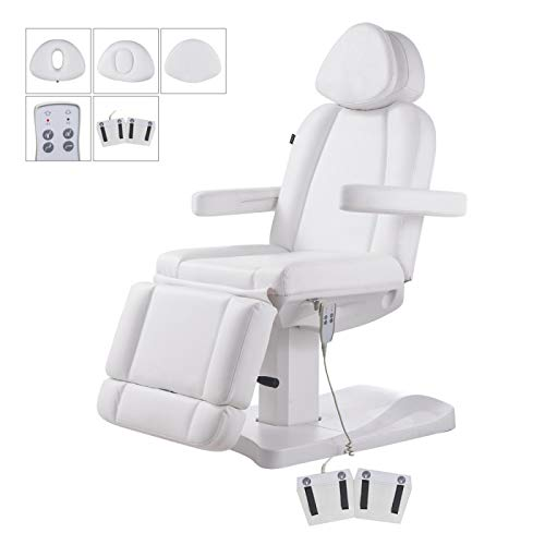 Facial Beauty Bed Medical Aesthetic Tattoo Procedure Bed With Electrical Adjustments – Ink-White
