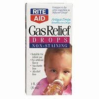 Rite Aid Gas Relief Infants' Drops, Dye-Free 1 fl oz (30 ml)