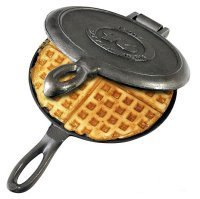 Old Fashioned Cast Iron Waffle Maker (Cast Iron Waffles compare prices)