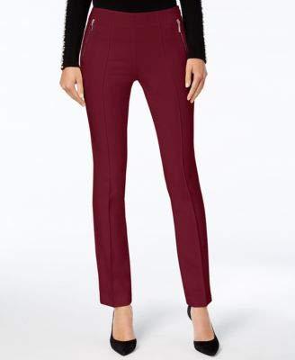 Women's Curvy-Fit Skinny Pants (Port, 16)