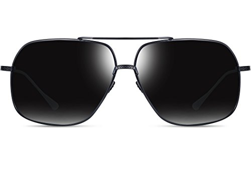 1594238cfab ATTCL Men s HD Polarized Navigator Aviator Sunglasses for Men ...