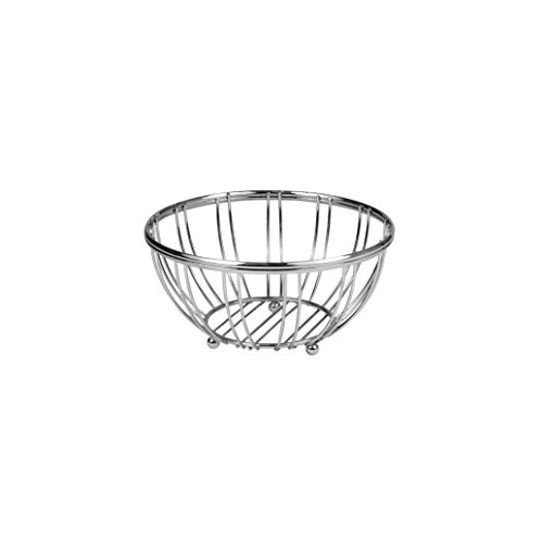 Spectrum Diversified Contempo Small Fruit Bowl, Chrome
