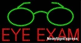 Eye Exam LED Sign ()