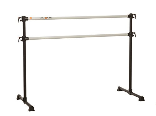Vita Vibe Ballet Barre - PBD96 8ft Portable DOUBLE Bar - Freestanding Stretch/Dance Bar - Vita Vibe - USA Made by Vita Vibe Pro Ballet Barres