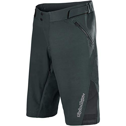 Troy Lee Designs Ruckus Solid Men's Off-Road BMX Cycling Shorts - Charcoal / 34 ()