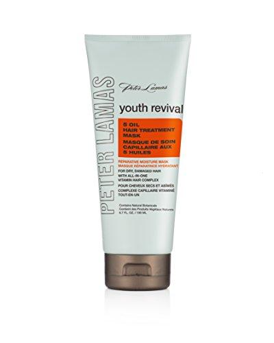 Peter Lamas Youth Revival 5 Oil Hair Treatment Mask, 6.7 Ounce by Peter Lamas