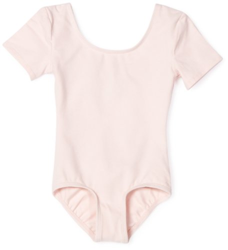 - Danskin Girls' Short Sleeve Leotard,Theatrical Pink,Toddler(2T/4T)