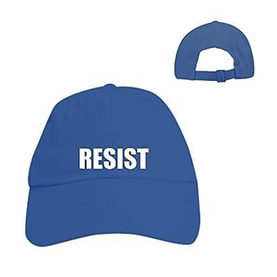Make Hat Resist Embroidered Anti Protest Resist Trump Dad Hat Slide Buckle