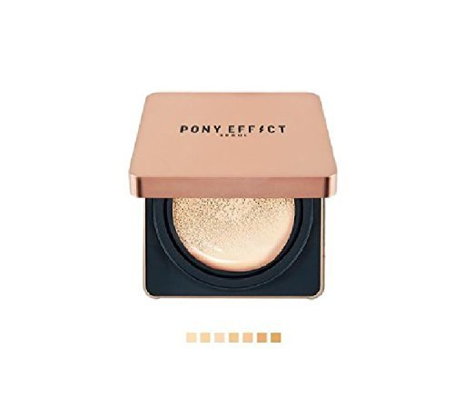 Pony Effect Cover Stay Cushion Foundation + Refill (SPF50+ PA+++) Matte Ice Effect (#25 Sand)