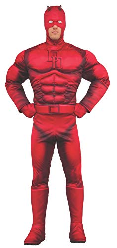 Rubie's Men's Marvel Daredevil Deluxe, As Shown, X-Large -