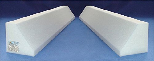 rs Child Bed Safety Guard Rail 42 Inch - One Piece Design (Bed Rail Wedge Pads)