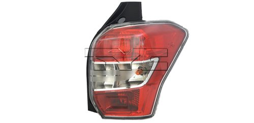 TYC 11-6597-00-1 Replacement right Tail Lamp (SUBARU FORESTER), 1 Pack (Forester Tail Subaru Lamp)