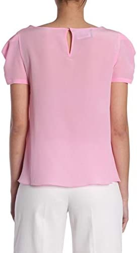 Boutique moschino Luxury Fashion Donna A020708370239 Rosa Seta T-Shirt | Stagione Outlet