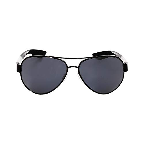 Costa Del Mar South Point Sunglasses, Gunmetal with Crystal Temples, Gray 580Plastic Lens