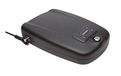 Winchester Safes Defender by RFID Handgun Safe, Flat Black, 1 Gun Capacity, ()