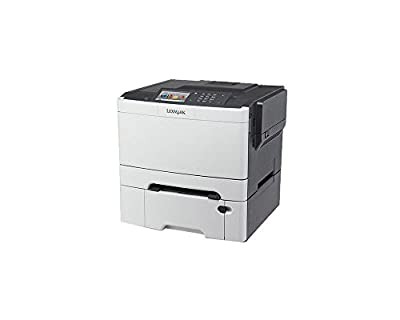 Lexmark CS510dte 28E0100 Laser Color Printer, Black/Grey