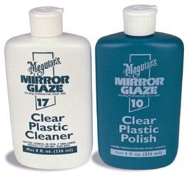 - Meguiar's #10 and #17 Plastic Polish & Cleaner