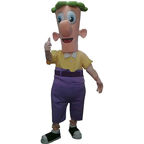 Ferb of Phineas and Ferb Mascot Costume Character