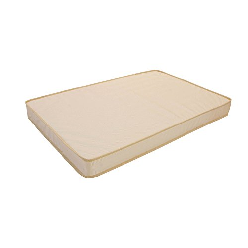3'' Organic Cotton Layer Mini Crib Mattress by L.A. Baby