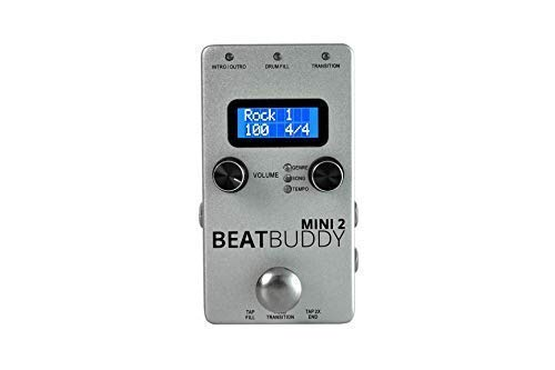 Singular Sound BeatBuddy MINI 2: Personal Hands Free Drummer Guitar Effect Pedal