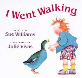 I Went Walking Hardcover Book