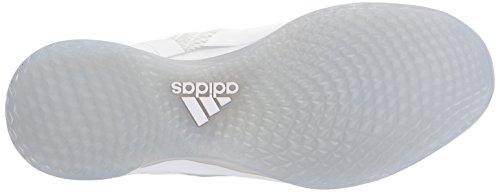 adidas Performance Herren Icon Cross Trainer Weiß / Metallic Silber / Hellgrau